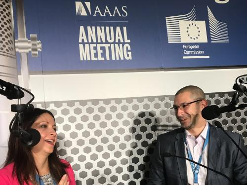 Frances Colon in Live Podcast from AAAS Annual Meeting