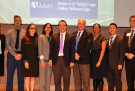 Science and Technology Policy Fellows Showcase Effective Communication