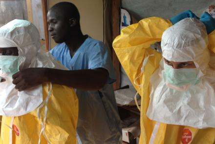 As Healthcare Workers Struggle Against Ebola, Other Problems Also Demand Their Attention